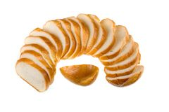 Sliced baguette Royalty Free Stock Photography