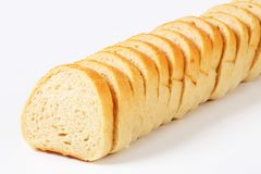Sliced baguette Royalty Free Stock Photos