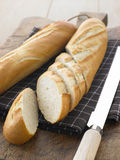 Sliced Baguette Sticks Royalty Free Stock Image