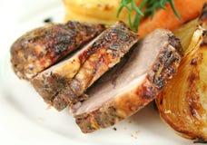 Sliced Baked Lamb Royalty Free Stock Image