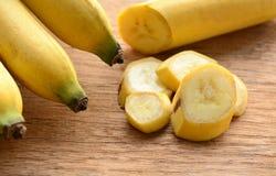 Sliced banana Royalty Free Stock Photos