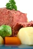 Sliced Beef Brisket Stock Photography