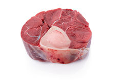 Sliced beef shank Royalty Free Stock Image