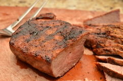 Sliced Beef Tri Tip Royalty Free Stock Images