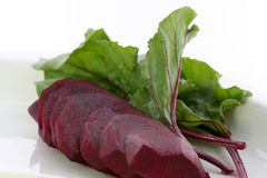 Sliced beet Royalty Free Stock Image
