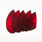 Sliced Beetroot Stock Photography