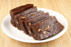 Sliced Black Halwa Stock Photos