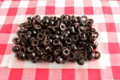 Free Sliced Black Olives Royalty Free Stock Images - 12338639