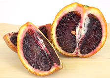 Sliced Blood Orange Stock Images