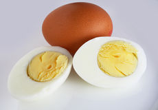 Sliced boiled egg Royalty Free Stock Photos