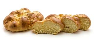Braided bread isolated Stock Photos
