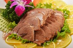 Braised beef shank Royalty Free Stock Photos