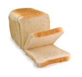 Sliced bread. Isolated on white Royalty Free Stock Image