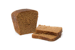 Sliced bread. Isolated on the white background Stock Image