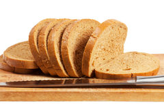 Sliced bread Stock Photo