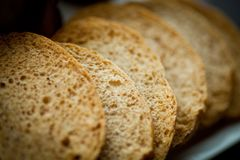 Sliced bread Royalty Free Stock Image