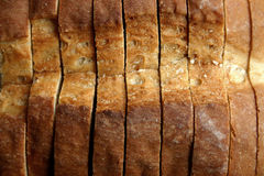 Sliced bread. A loaf of sliced bread Royalty Free Stock Photography
