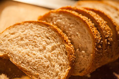 Sliced bread  closeup Stock Image