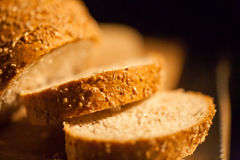 Sliced bread  closeup Royalty Free Stock Photography