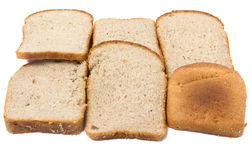 Sliced bread closeup Royalty Free Stock Images