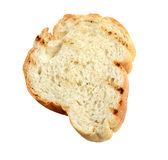 Sliced bread isolate (clipping path). Stock Photos