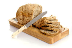 Free Sliced Bread Isolated Stock Photography - 18049602