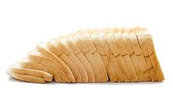 Free Sliced Bread Isolated On White Stock Photos - 33250013