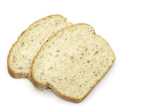 Sliced bread isolated Stock Photography