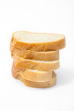 Sliced bread isolated Stock Images