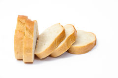 Sliced bread isolated Royalty Free Stock Images