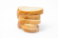 Sliced bread isolated Royalty Free Stock Photography