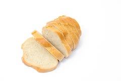 Sliced bread isolated Royalty Free Stock Photos