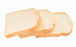 Sliced bread. Isolated on white background Royalty Free Stock Images