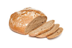 Sliced bread (isolated) Stock Image