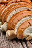 Sliced  bread loaf Stock Image