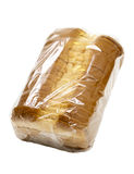 Sliced Bread in Plastic Wrap Royalty Free Stock Photos