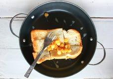 Sliced bread rusk Stock Image
