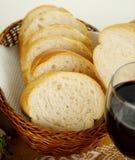 Sliced Bread Stick Stock Photo