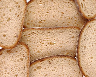 Sliced bread texture Stock Photos