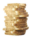 Sliced bread tower Stock Photo