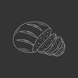 Sliced bread vector illustration. Stock Photography
