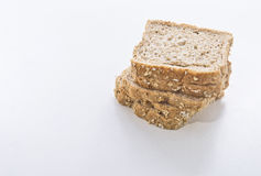 Sliced bread. On white background Royalty Free Stock Photography