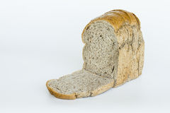 Sliced bread,  on white Royalty Free Stock Image
