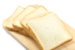 Sliced Bread. On white background Stock Photo