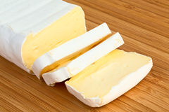Sliced Brie Royalty Free Stock Photography