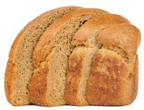 Sliced Brown Bread Royalty Free Stock Images