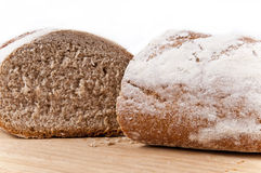 Sliced brown bread Royalty Free Stock Image