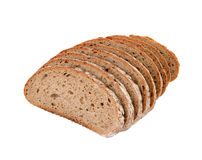 Sliced brown bread Stock Image