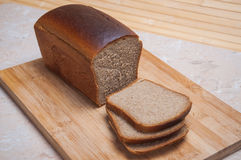 Sliced Brown bread Stock Images