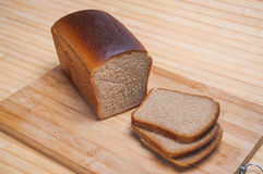 Sliced Brown bread Stock Photography